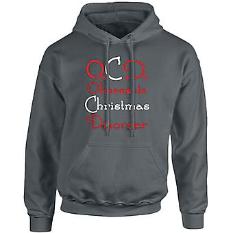 OCD Obsessive Christmas Disorder Xmas Unisex Hoodie 10 Colours (S-5XL) by swagwear