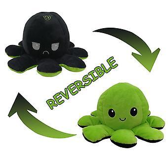 Reversible Octopus - schwarz und grün