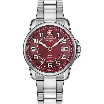 Militar suizo Hanowa 06-5330.04.004 Reloj de hombre granadero suizo