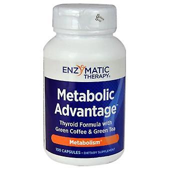 Enzymatic Therapy Metabolic Advantage, 100 Caps