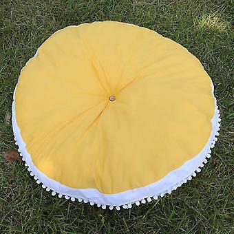 90cm Round Cushion Pad- Home Decor Seat Cushion Kids Pillow Stuffed Thick