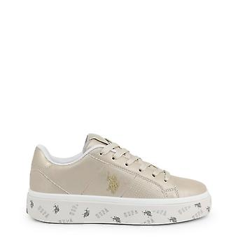 Amerikansk polo assn. 4119s0 women's runde tå sneakers