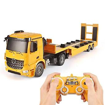 Tractor Flatbed Truck Trailer, Niño Electric Remote Control Engineering Truck