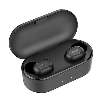 QCY QS2 Wireless Earphones - Bluetooth 5.0 Earbuds - Ear Wireless Buds Earphones Earbuds Earphones Black