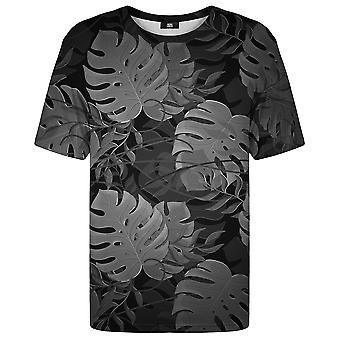 Mr. Gugu Miss Go Monstera czarny T-shirt
