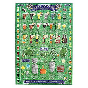 Ridley's beer lovers 500pc puzzle
