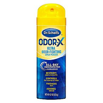 Dr. scholl's odor-x odor fighting spray powder, 4.7 oz