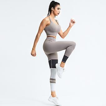Dames yoga séchage rapide costume de sport haute élastique vêtements YJ009