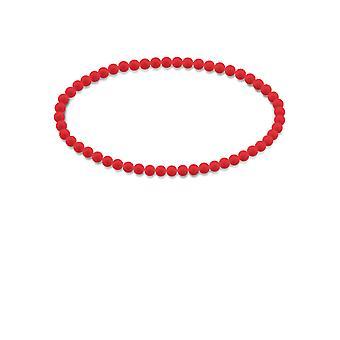 Bracciale yoga con perline in gomma siliconica