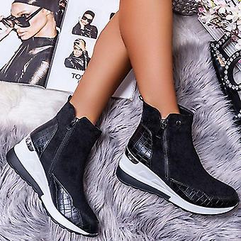 Vinter chunky sneakers, ankel stövlar