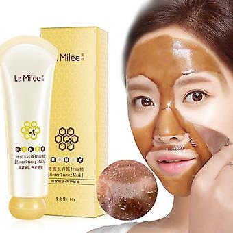 Honey Tearing Peel Mask, Oil Control - Blackhead Remover Peel Off, Dead Pores
