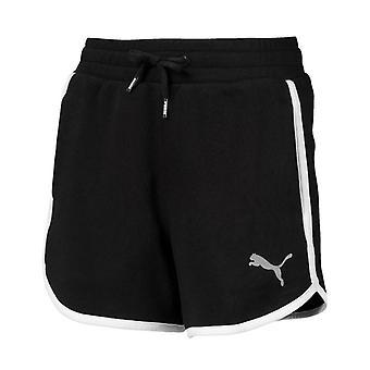 Puma Alpha Sweat Shorts Juniors Casual Træningsbukser Sort 854275 01