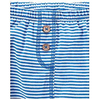 Simple Joys van Carter's Baby Boys' 4-Pack Pant, Navy/Stripes/Gray, Newborn