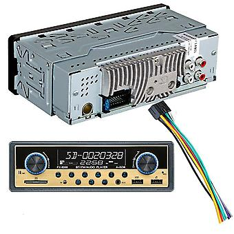 Autoradio 1 Din Car Radio Coche Bluetooth Stereo Audio Fm Receiver Usb Sd Aux