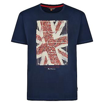 Ben Sherman Union Jack 'All Together Now' T-Shirt