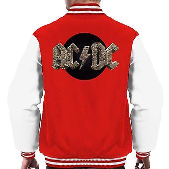 AC/DC Rock Logo Men's Varsity Jacket