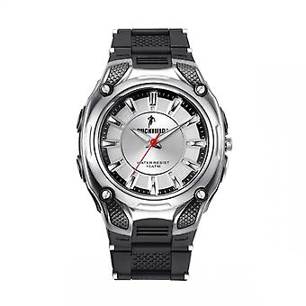 Ruckfield 685030 Watch - Analogical Silicone Bicolore Silver and Black Men