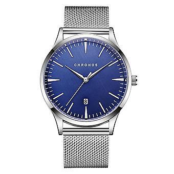 CHRONOS CH27 Casual Style Wodoodporny męski zegarek na rękę 40mm Hardlex Dial Ultra Th