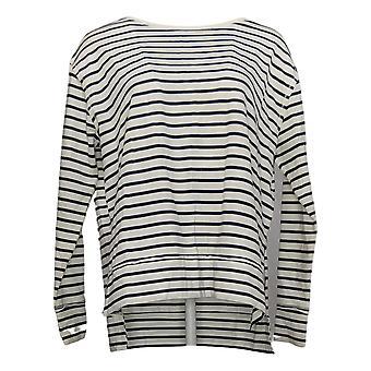Rachel Hollis Ltd Women's Top Made for More Inches Sweatshirt White A373192