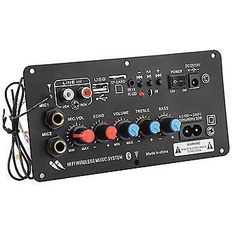 Digitalt Bluetooth-förstärkarkort (svart)