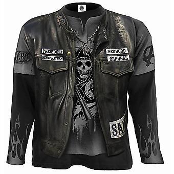 Jax Wrap Allover Longsleeve T-Shirt Black