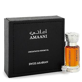 Sveitsin Arabian Amaani haju vesi öljy (Unisex) mukaan Swiss Arabian 0,4 oz haju vesi öljy
