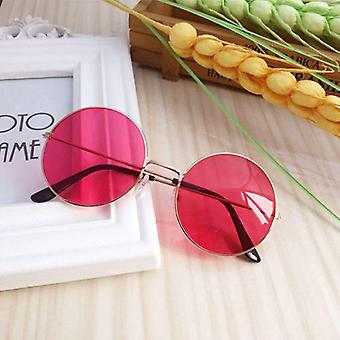 Round Clear Fake Round Eye Glasses Frames