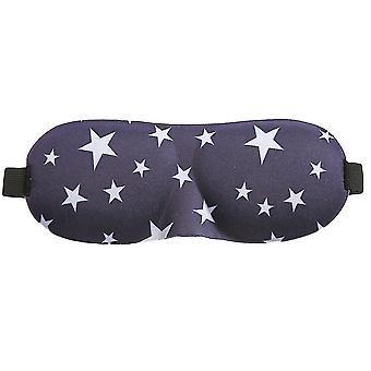 Sleep Mask, Blackout 3D Contoured Sleep Eye Mask, Lightweight Comfortable for Sleeping