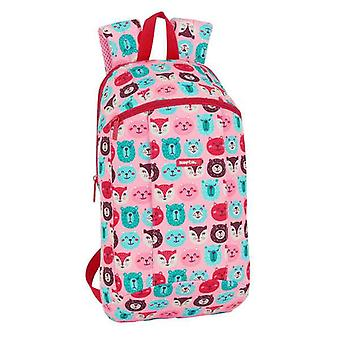 Child bag safta pink patterned
