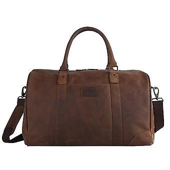 Ashwood Leather Jayden Large Travel Holdall - Tan