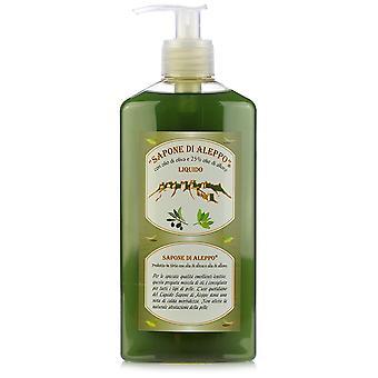 Sapone di Aleppo Aleppo Soap Liquid 25% Laurel 400 ml