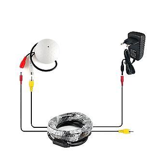 Cctv Mikrofon Bezpieczeństwa, Kamera Audio, Mikrofon szeroki zakres mikrofon + kabina + moc