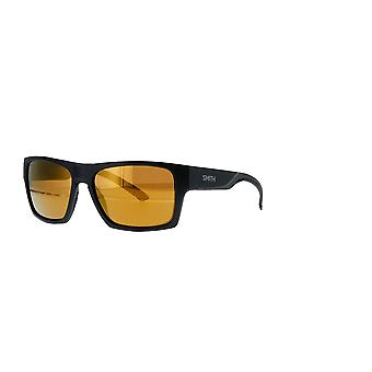 Smith Outlier XL 2 124/QE Matte Black-Silver/Brown Mirror Sunglasses