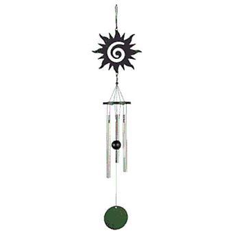 tuulipeli Su 35 cm teräs musta/hopea 3-osainen
