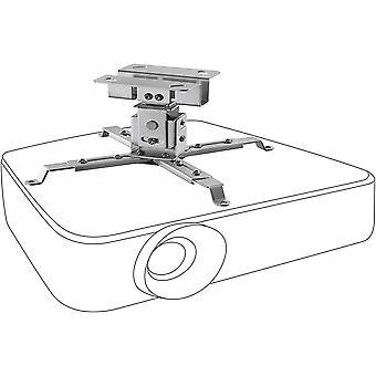 HanFei neigbare und schwenkbare Beamer-Deckenhalterung universal MultiCel1200S - Silber - 12 cm