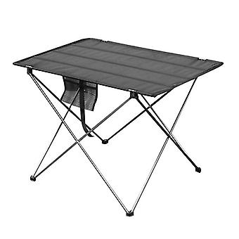 Portable foldable aluminium table for outdoor camping