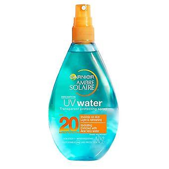Garnier Ambre Solaire UV Wasser Transparent schutzspray SPF20 150ml