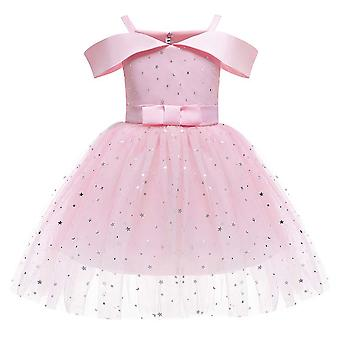 Strapless Princess Puffy Party Dress For Girls
