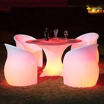 Led Rechargeable Colorful Luminous Lighting Lounge Chair