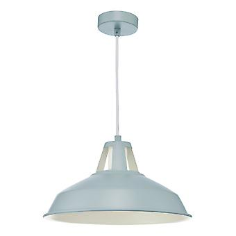 Dome Pendant Light Grey, 1x E27