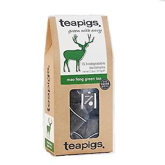 Teeschweine Mao Feng Grüner Tee