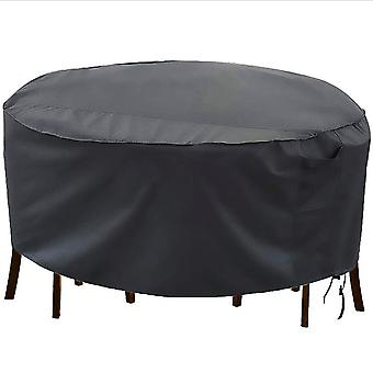 Round Tables And Chairs Outdoor Dustproof And Sunscreen Waterproof Furniture Cover
