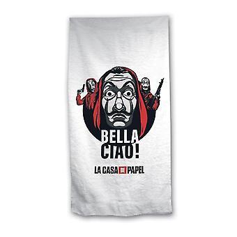 La Casa De Papel Bella Ciao! Quick Drying Towel Bath Towel 140x70cm