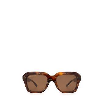 Balenciaga BB0127S havana unisex sunglasses
