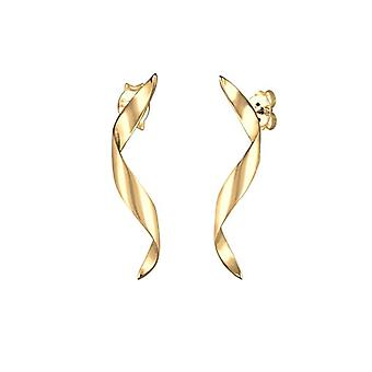 Elli Kvinders Guld-tone Øreringe(1)