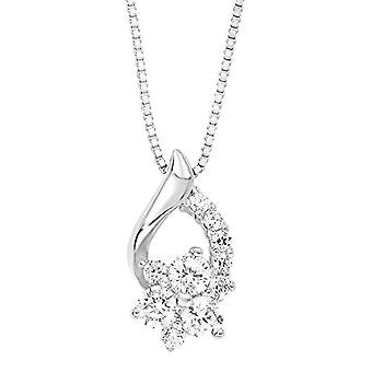 Amor Donna 925 White Silver Zirconium Oxide FINENECKLACEBRACELETANKLET(1)