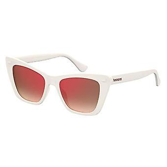 Havaianas Sunglasses Canoe, Gafas de sol de mujer, Marfil, 52