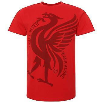 Liverpool FC Mens Liver Bird T-Shirt