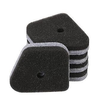 5 x Platt ersättning för luftfilter för Poulan PP3416 PP4218 PPB3416