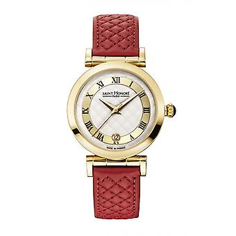 Montre Femme Saint Honor 7520113AMTR-R - Red Leather Strap